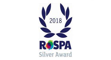 Capula achieves RoSPA Silver Award