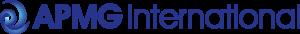 APMG International Logo - Blue